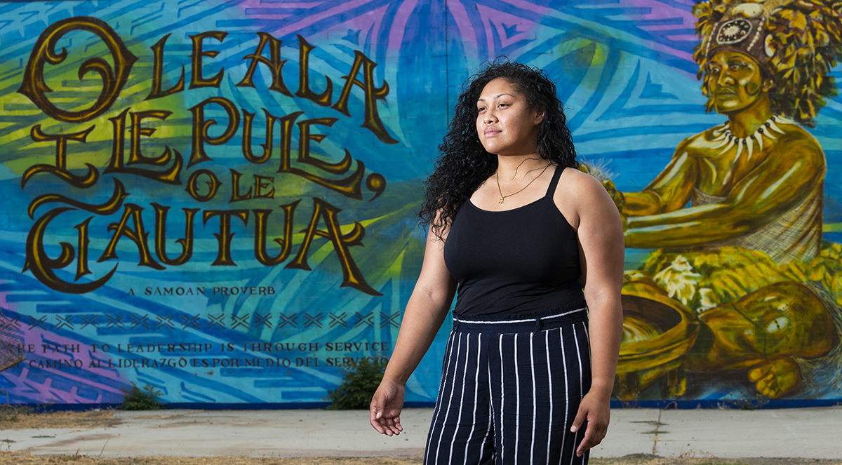 Meet the local Samoan woman who inspired this new Northside mural
