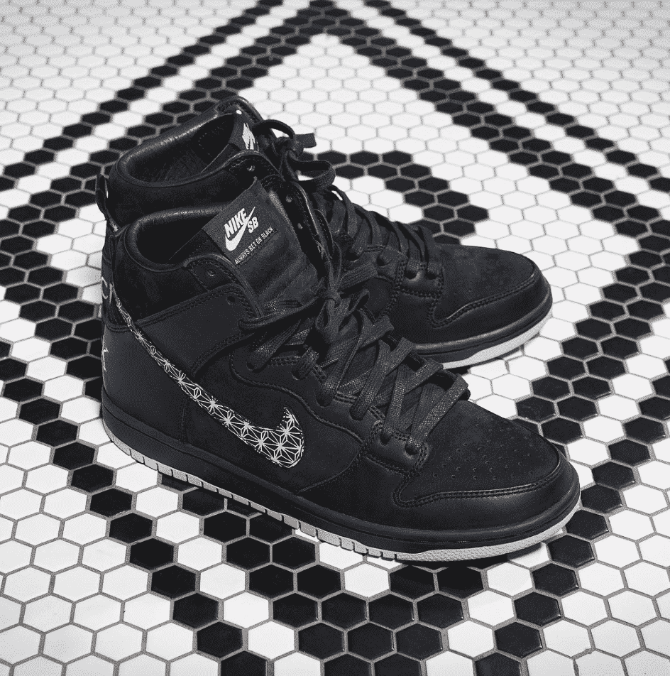 premium selection fec5d e1c6e Nike Skateboarding and Long Beach's BLACK bar have created a ...