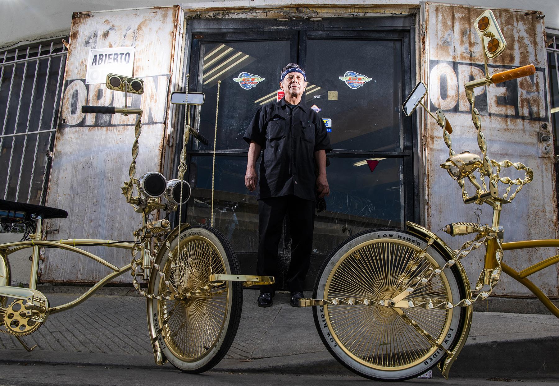 VIDEO: Jo Manny Silva, Godfather of the lowrider bike • the