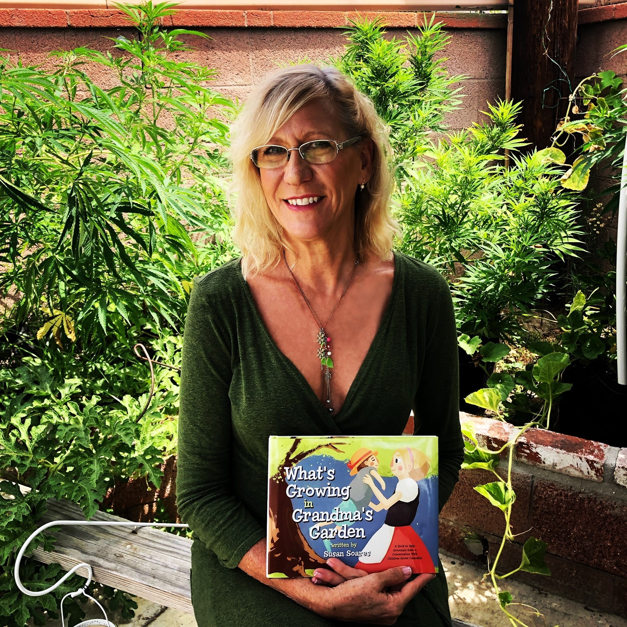'Grandma's Garden' is the result of what cannabis has given and taken from Susan Soares