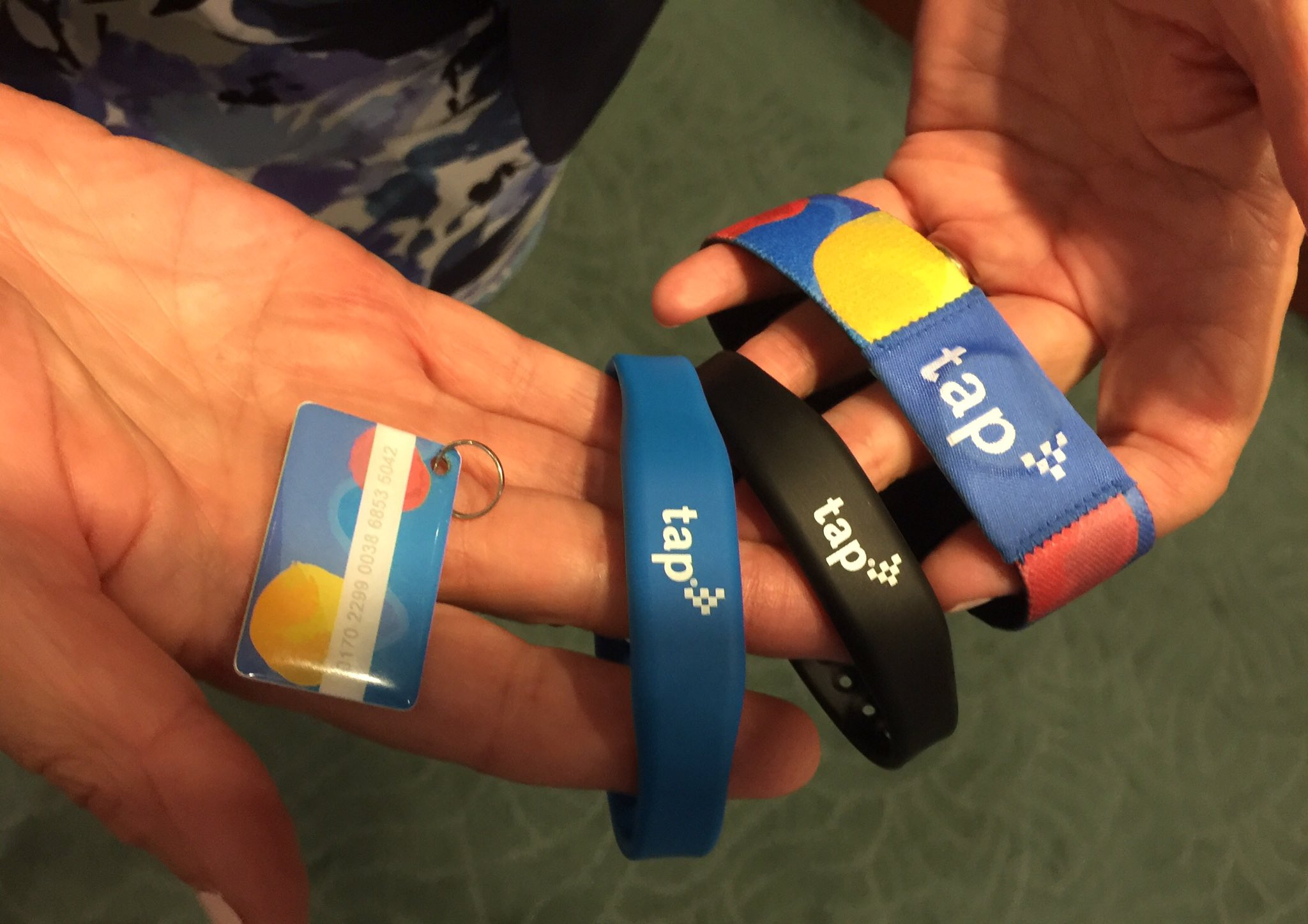 Metro to offer TAP wristbands, keychains; debut TAP phone app in winter