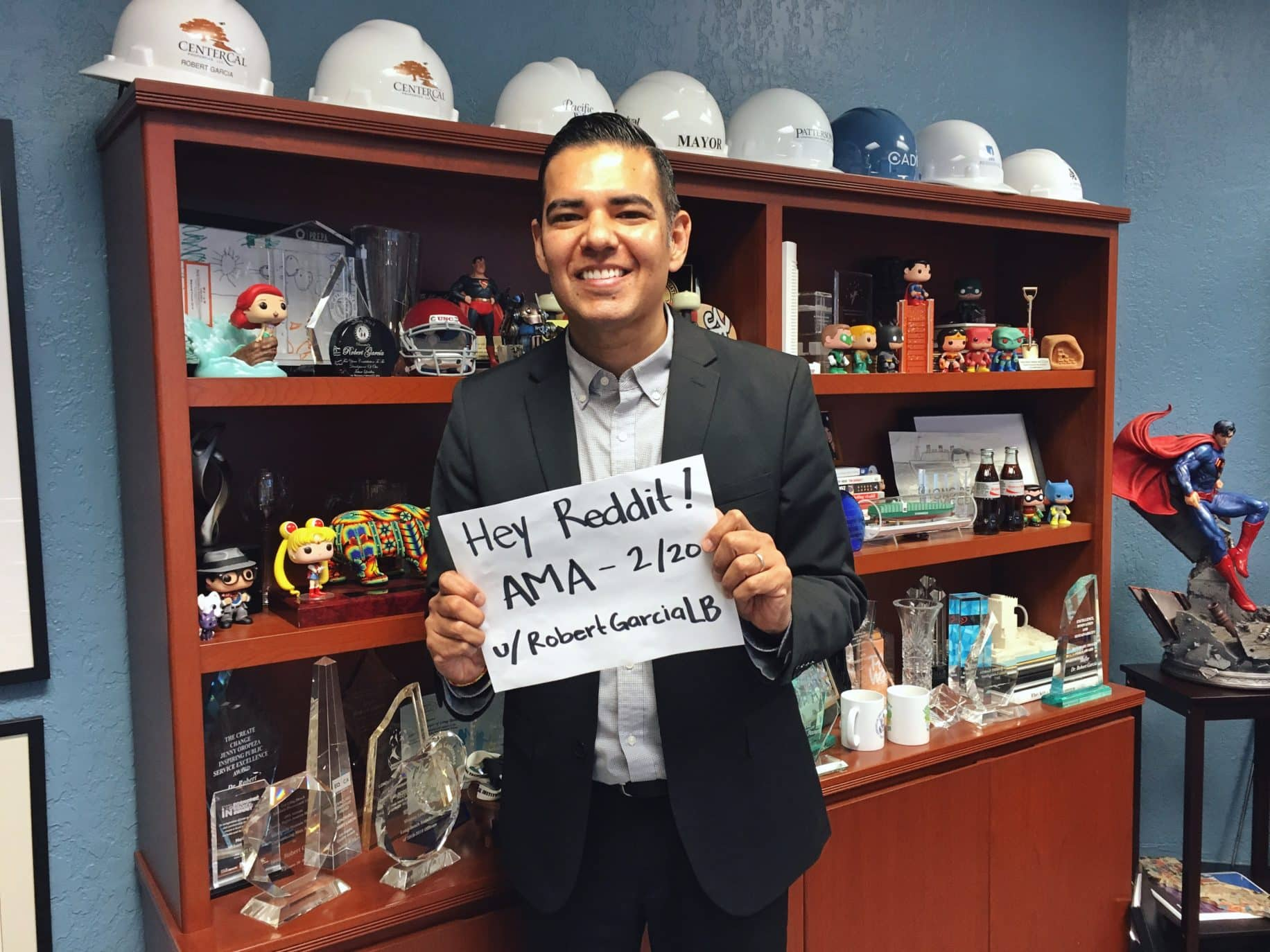 Mayor Garcia's Reddit session tackles movies, music and more