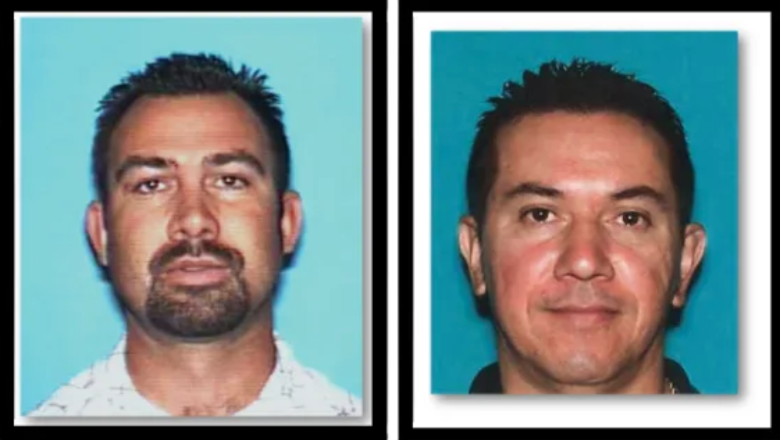 Ruben Gutierrez (left) and Wilfrido Rodriguez. Courtesy the Los Angeles County Sheriff's Department.