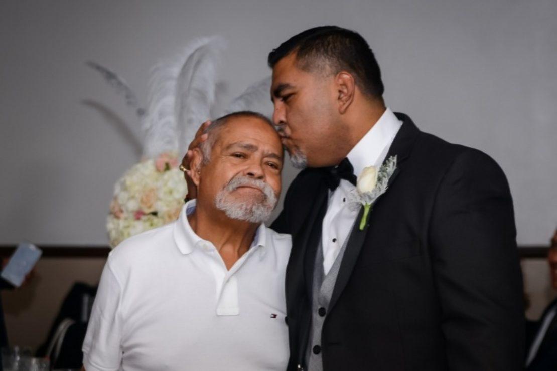 Francisco Sanchez with his son, Ramon Sanchez. Photo courtesy Ramon Sanchez.