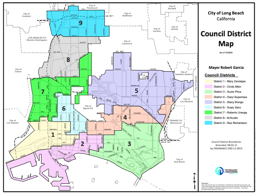 A whale of a tail: How one of the most gerrymandered parts of Long Beach came to be