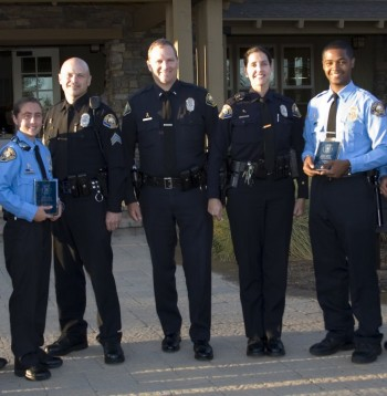 Am The Long Beach Police Department Awarded Two Of Its Explorer Scouts  The Gold Explorer Awards On July   At An Event Sponsored By The
