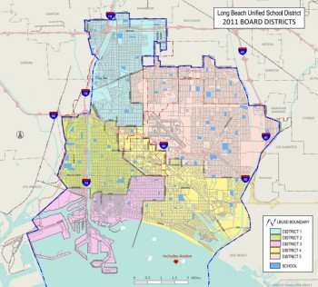 School District Map Long Beach Ca