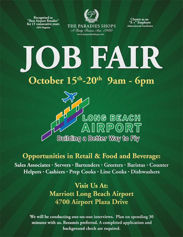 Long Beach Airport To Hold Job Fair 110 Jobs Available Long Beach Post News