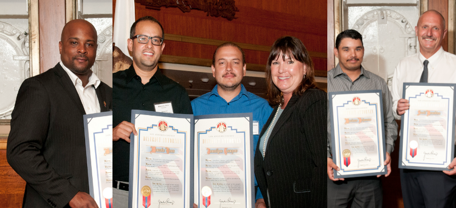 Six Citizens Honored for Their Courage in Three Long Beach