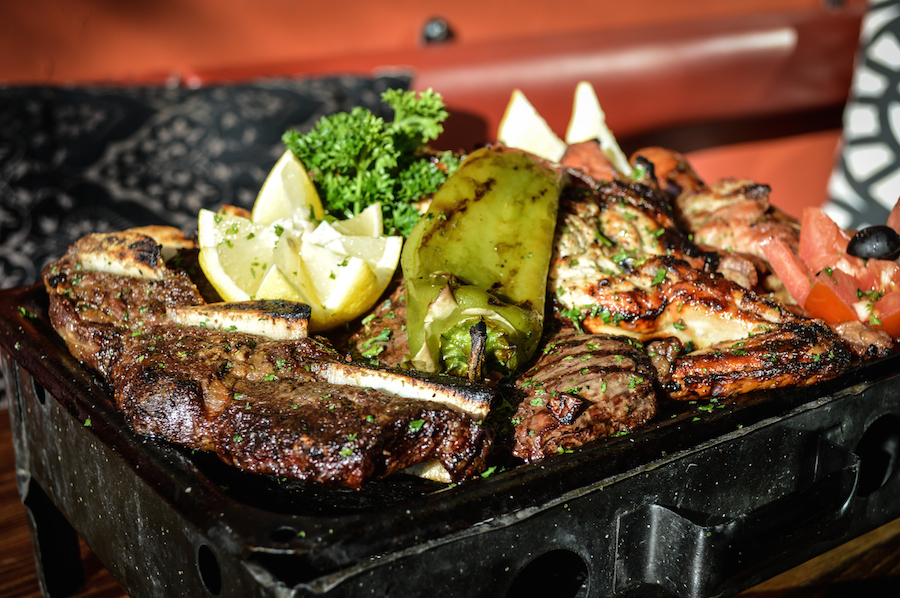 Gaucho Grill S Parrillada Platter Photos By Brian Addison