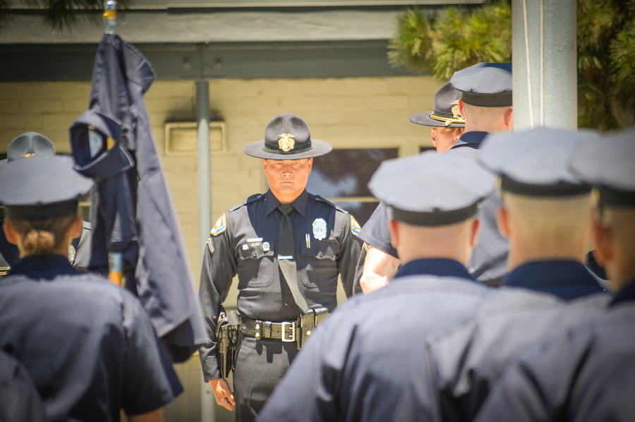 IN PICTURES: LBPD Recruits Face Stress, Physical Challenges