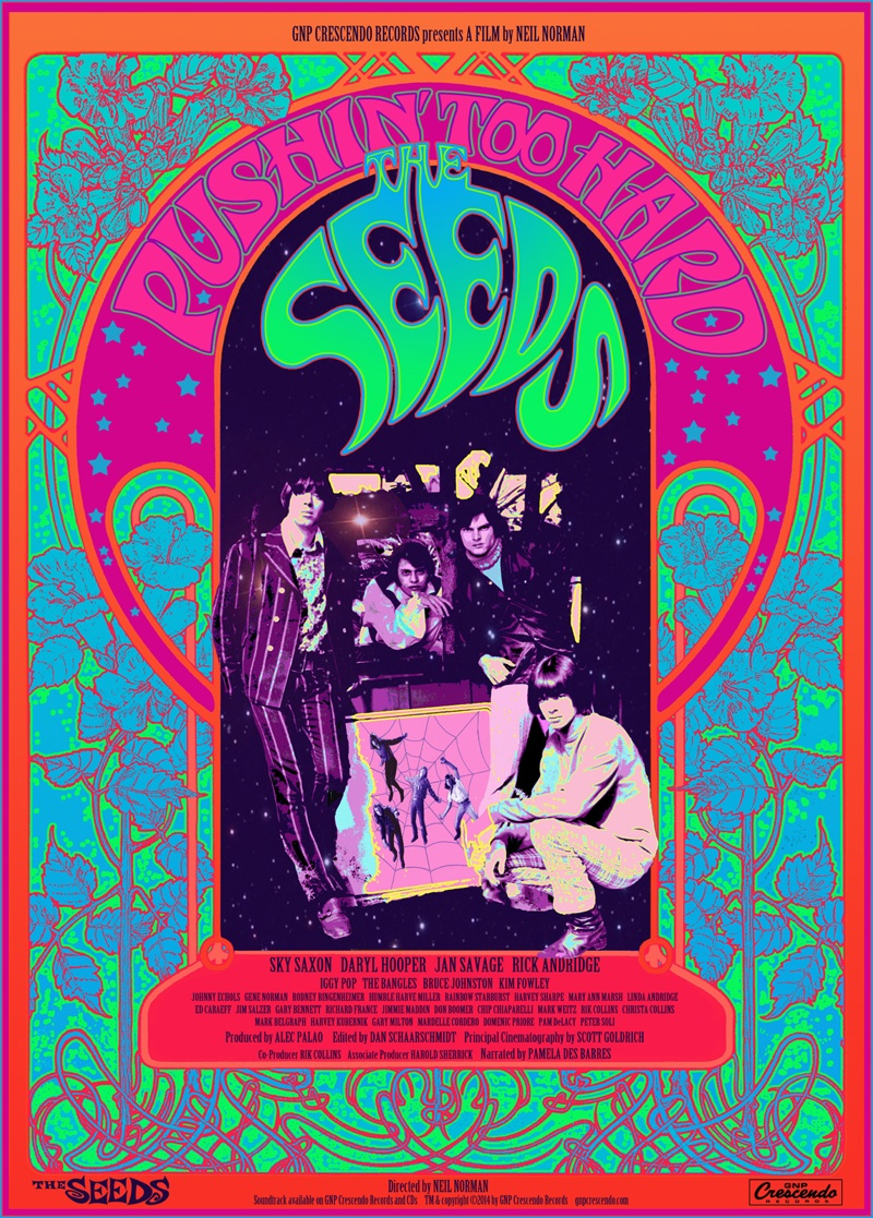 Prototype Garage Punk Band The Seeds To Have Documentary