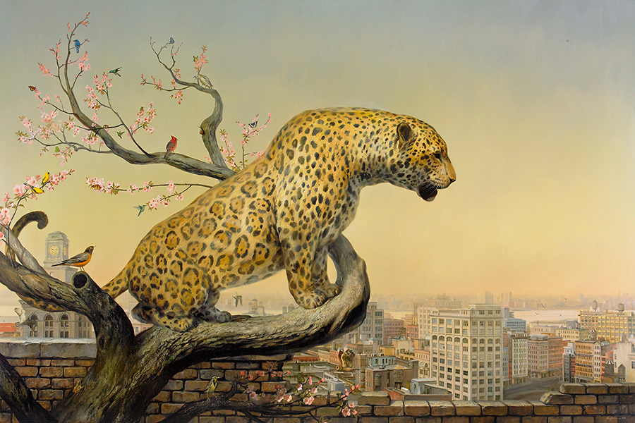 Martin-Wittfooth-The-Aviary-2013