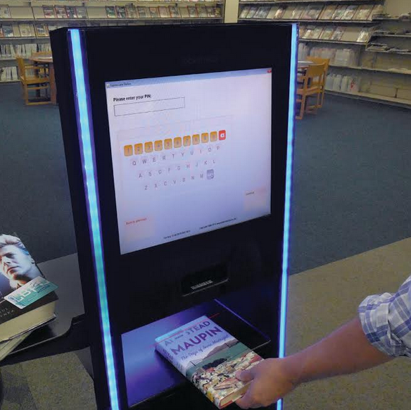 new self checkout stations now available in every long beach public