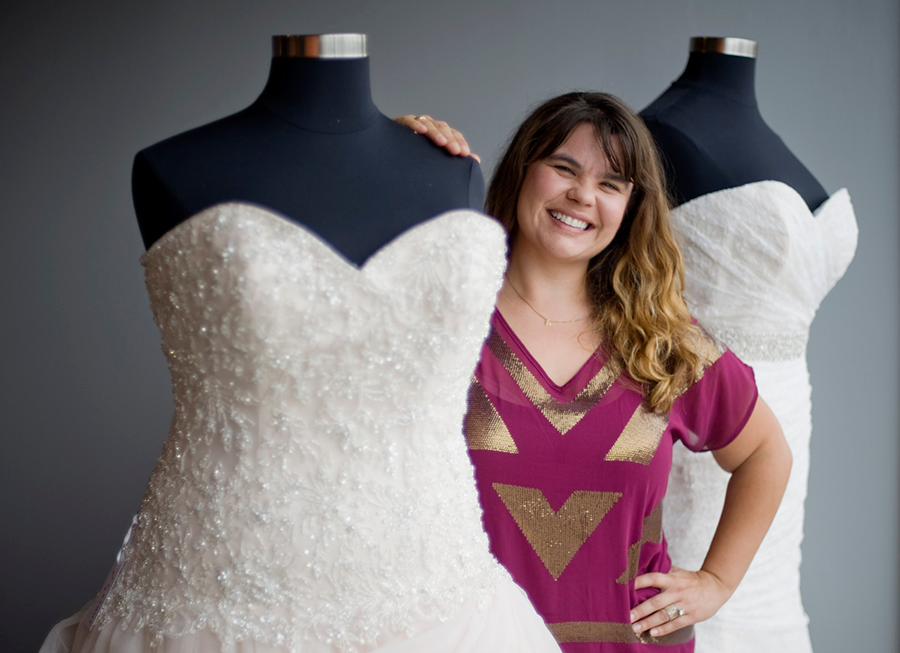 Strut Bridal Salon Fashion to Show Off Plus-Sized Wedding Dresses at ...