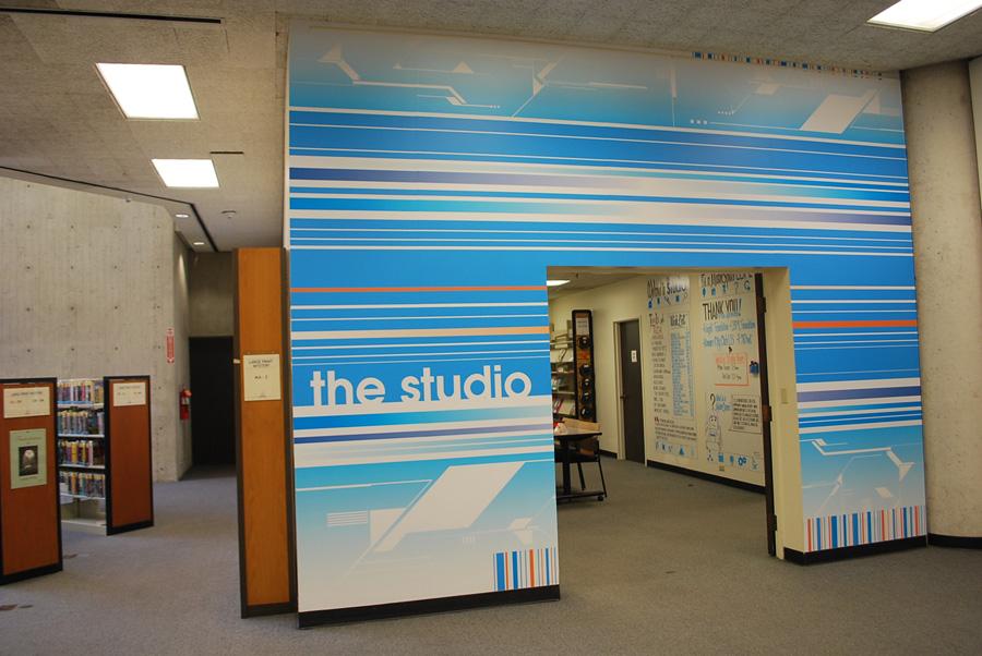the studio image courtesy of Sarah Bennett
