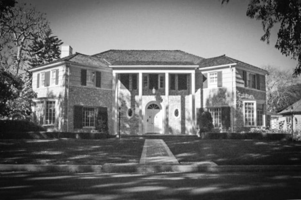 The Lloyd Whaley residence in Long Beach. Courtesy of USC.