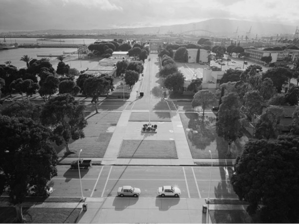 Grounds of Roosevelt Naval Base. Photo from HABS Documentation.