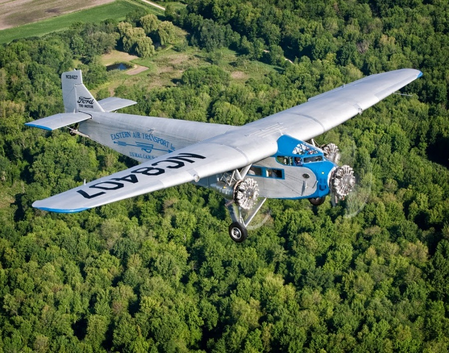 Experimental Aircraft Ociation To Offer Rides In Famous Ford Tri Motor Plane From Long Beach Airport