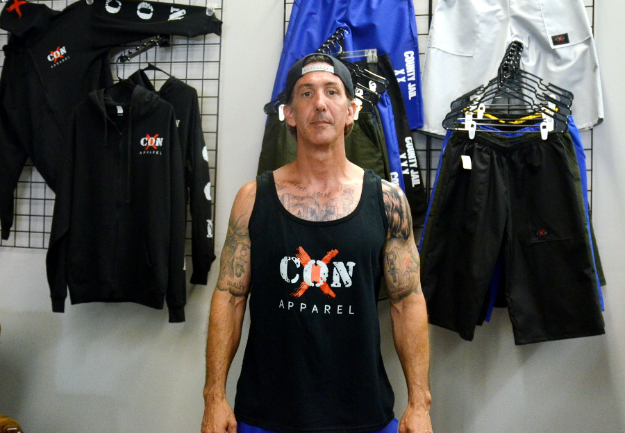 Ex con turns life around aims to inspire others through for Long beach ny shirts