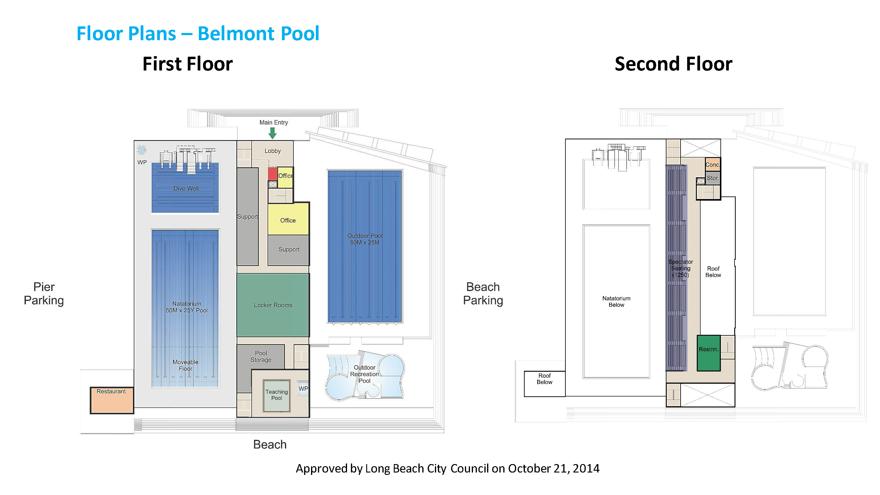 Belmont Pool Floor Plans