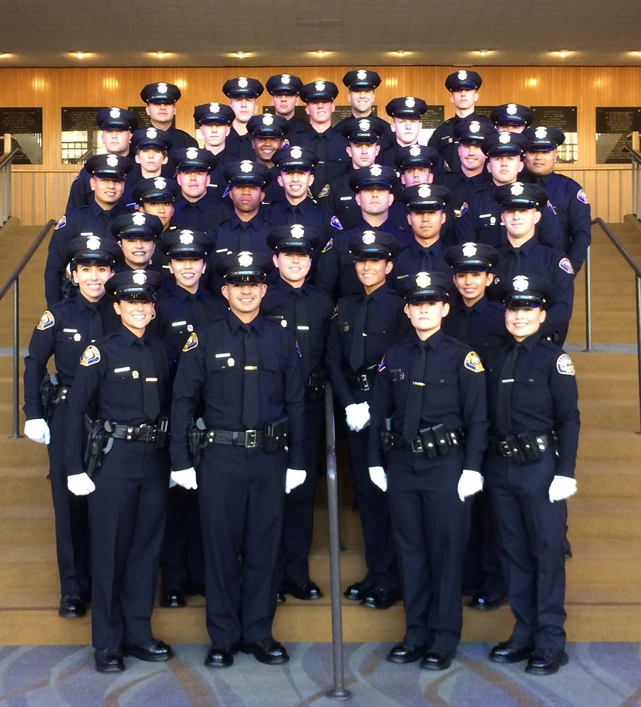 The Long Beach Police Department Welcomed  New Sworn Officers To Its Ranks On Thursday During A Graduation Ceremony At The Long Beach Performing Arts