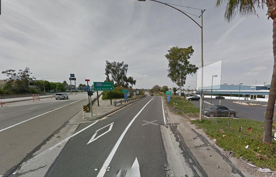 Motorcylist Dies, Teenager Injured in 405 On-Ramp Crash in