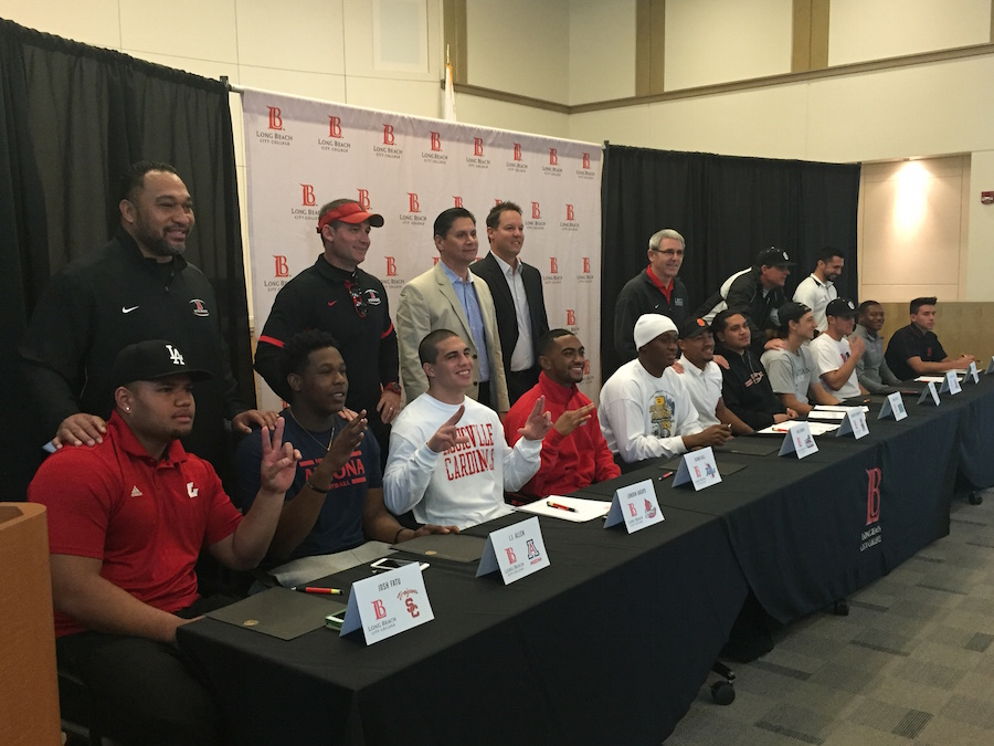 LBCC signing day 2016