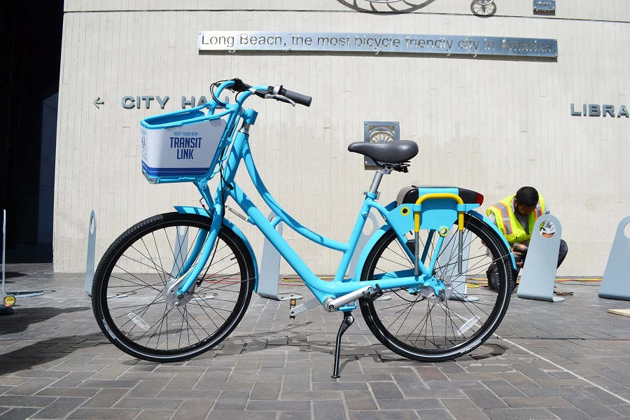 Unveiling Of Long Beach Bike Share