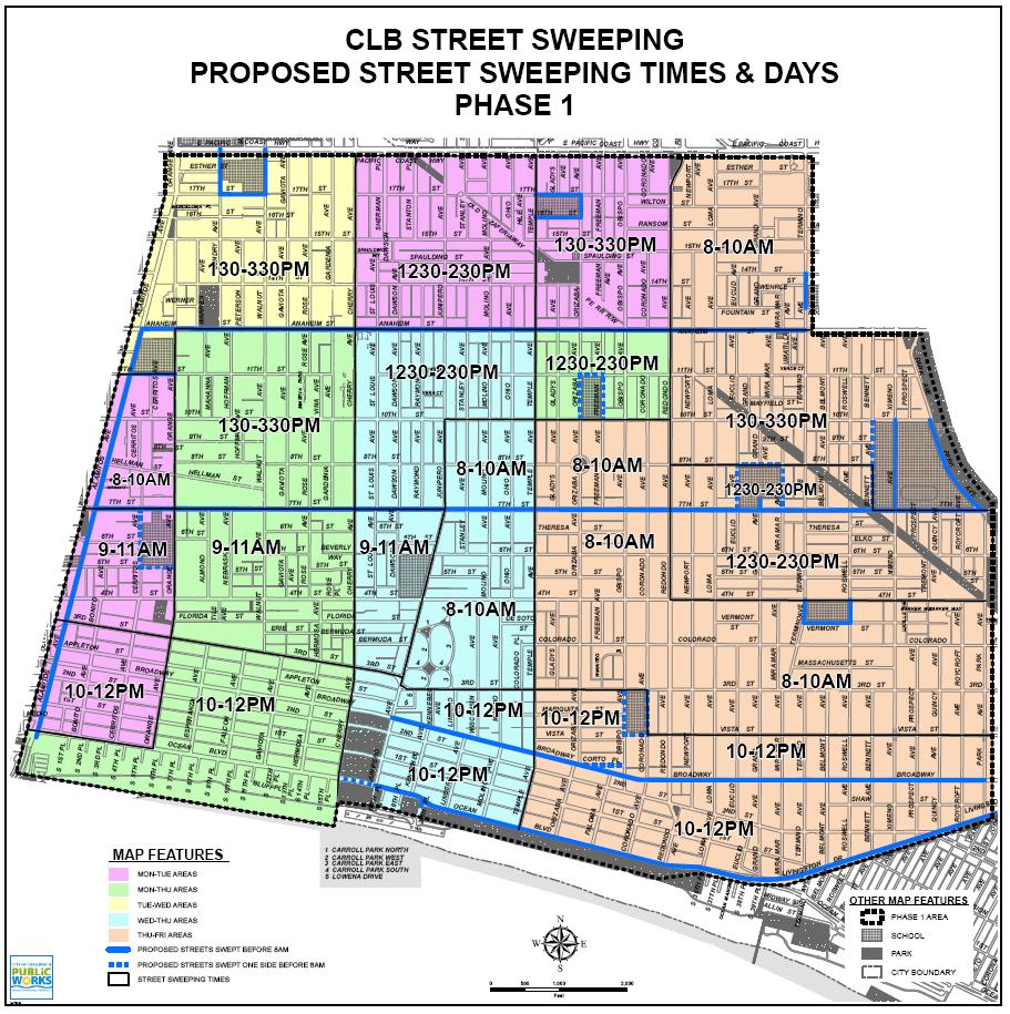 Street Sweeping Per The City S Release Issued Today Exact Changes To Be Made Include