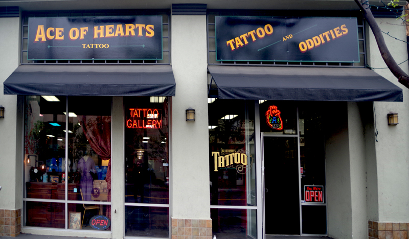 Tattooing legend joe truck brings body art to long beach s for Tattoo shops in long beach