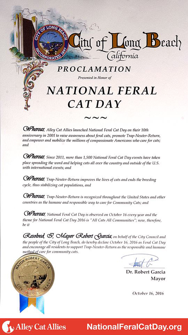 Feral Cat Day