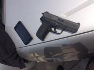 Suspects Gun