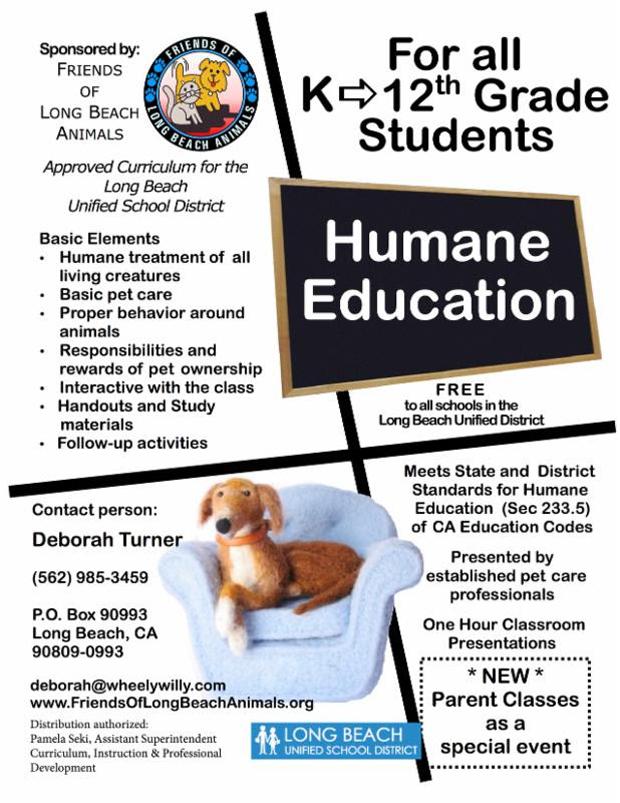 Deb Turners Humane Education