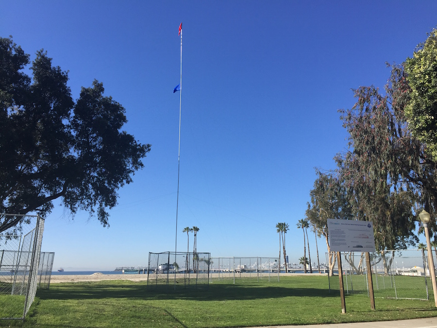 BelmontPool Story Pole