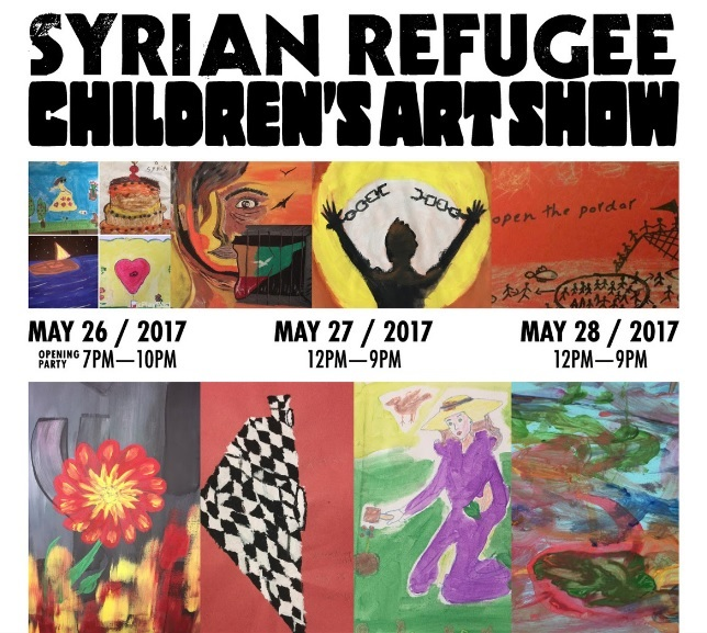 syrianrefugeeartshow