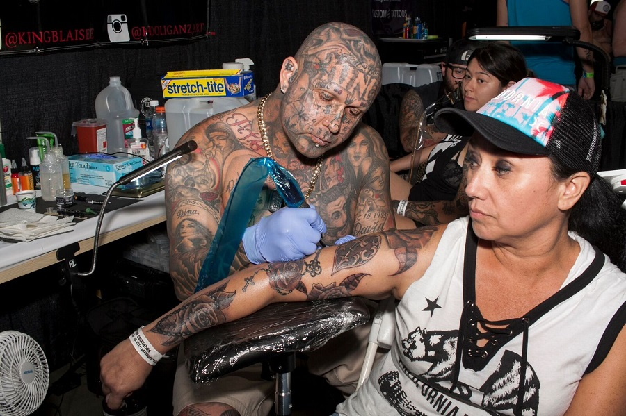 IN PICTURES: With Ink-N-Iron No More, SoCal Tattooers Still Flock to ...