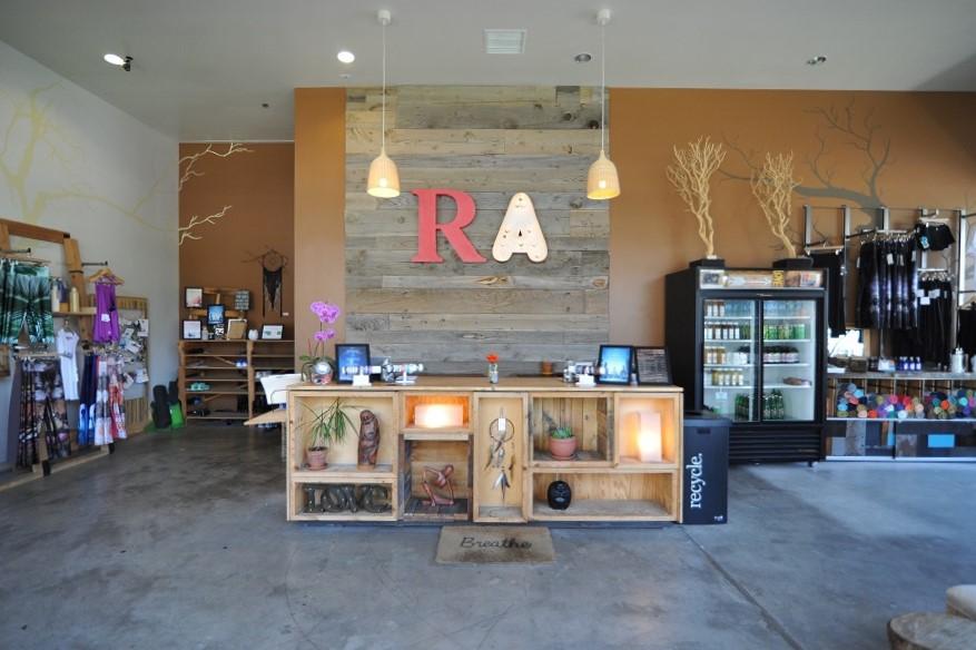 Ra Yoga Costa Mesa studio front