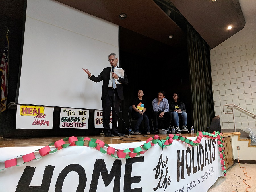 Congressman Alan Lowenthal. Lian Cheun. Phal Sok. Jocelyn Kong