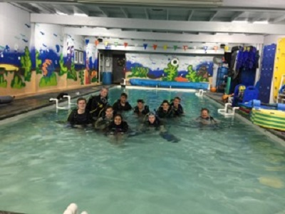 SCUBA pool