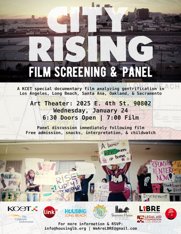 City Rising Screening Flye