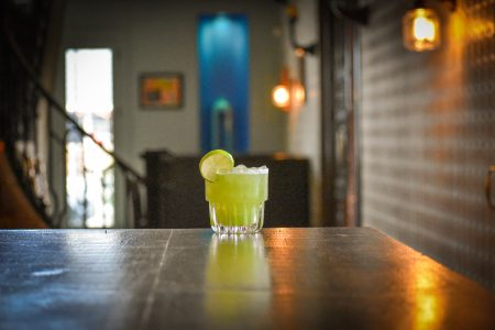 The Pepino Margarita from Padre. Photo by Brian Addison.