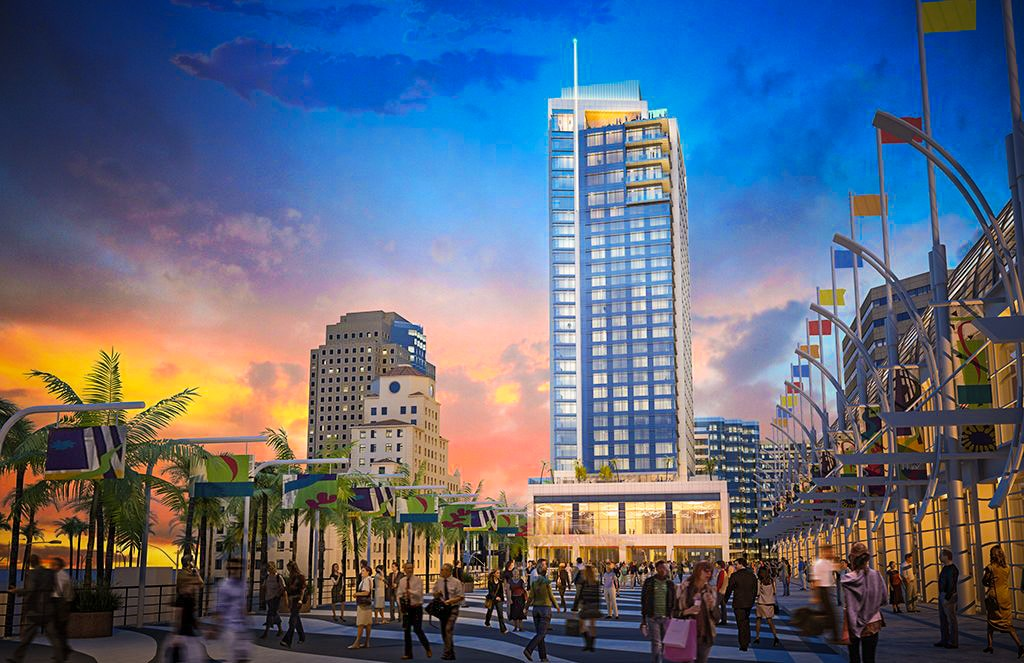 New Video Reveals Updated Design For Mive Hotel Project In Downtown Long Beach Post