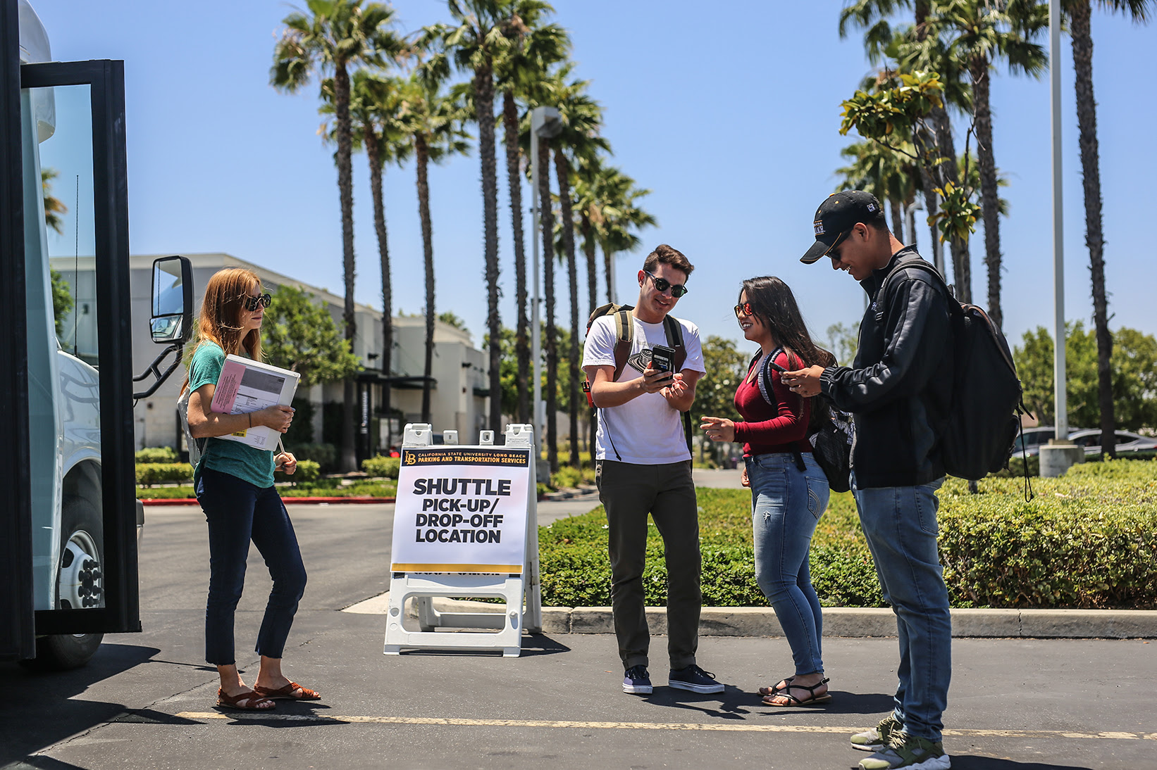 California State University Long Beach Is Offering 300 Ed Off Campus Parking Permits This Fall Students Can Take A Shuttle To From The Los