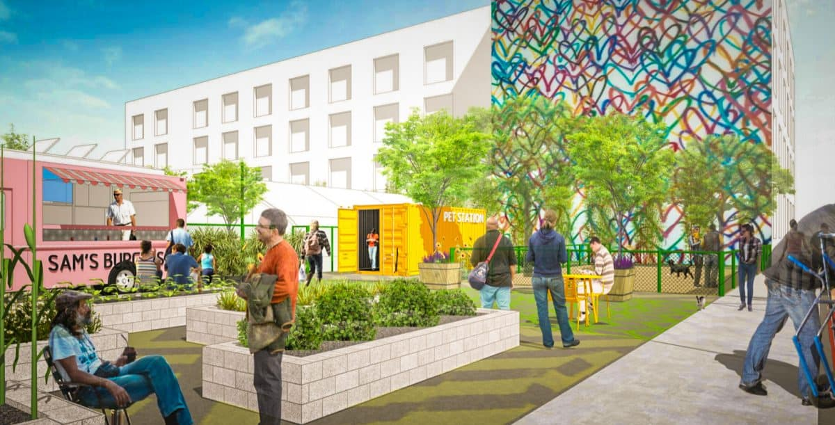 Long Beach Could Take A Cue From L Creating Temporary Homeless Shelters With Dignity