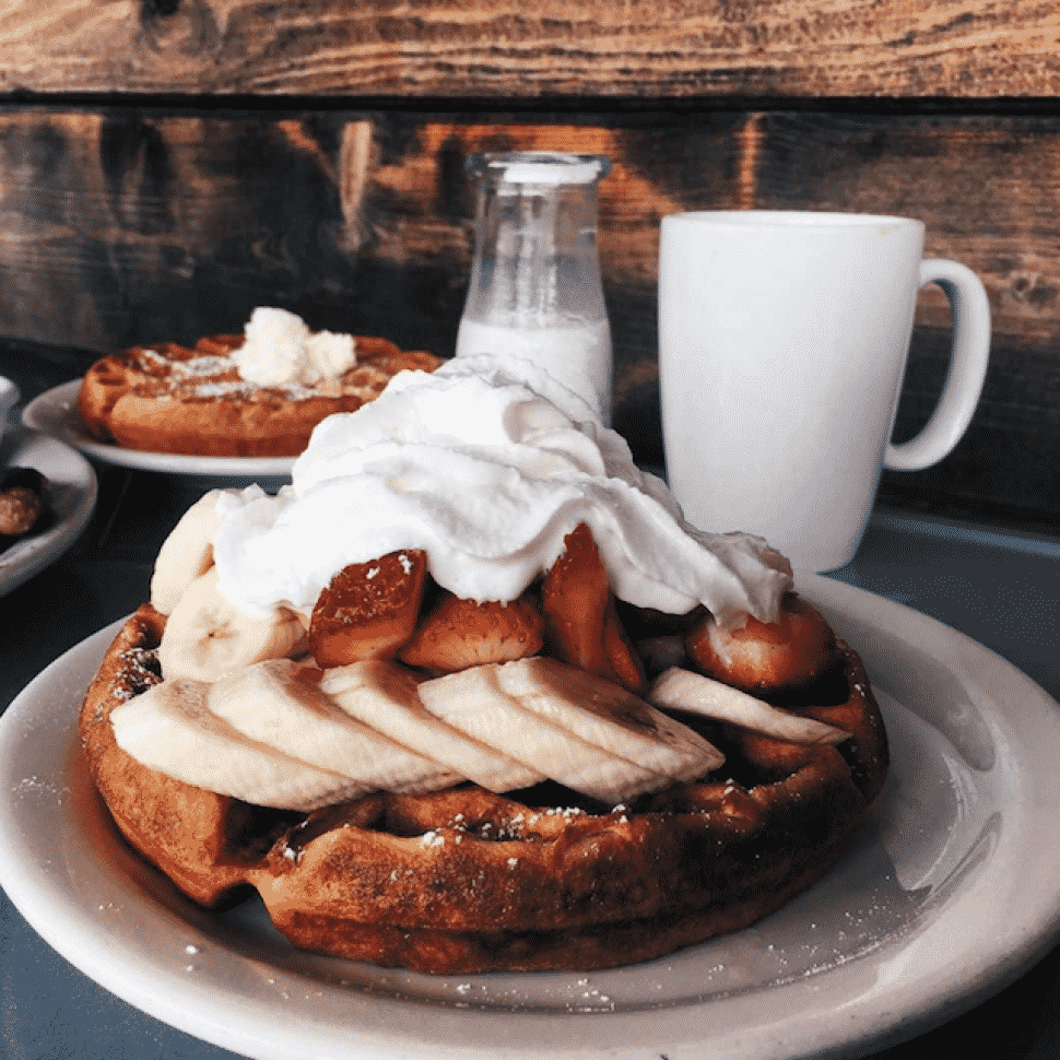 The Pan in Bixby Knolls serves up some of the city's best breakfast plates. Photo by Joinie Di.