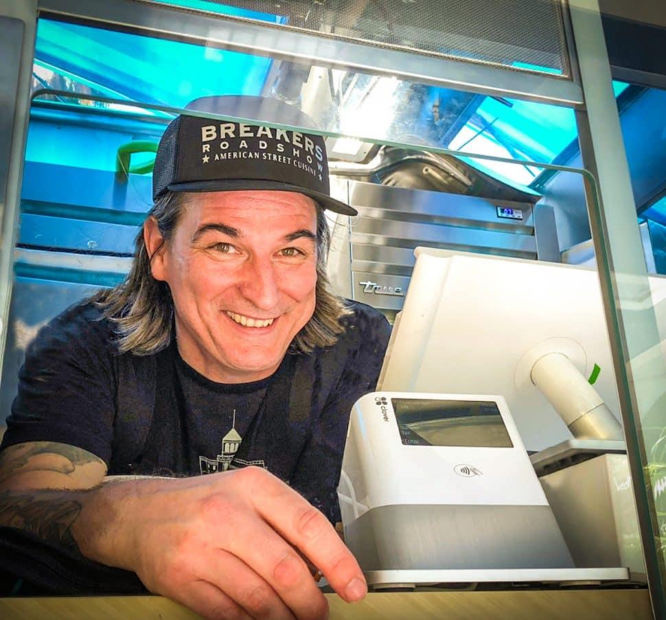 Chef David Colemen. Courtesy of Breakers Roadshow.