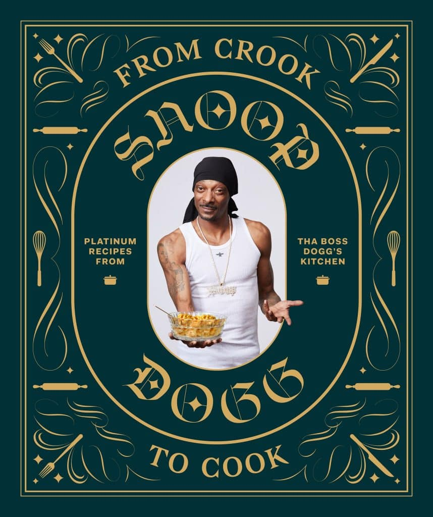 The cover of Snoop's new cookbook. Courtesy of Chronicle Books.