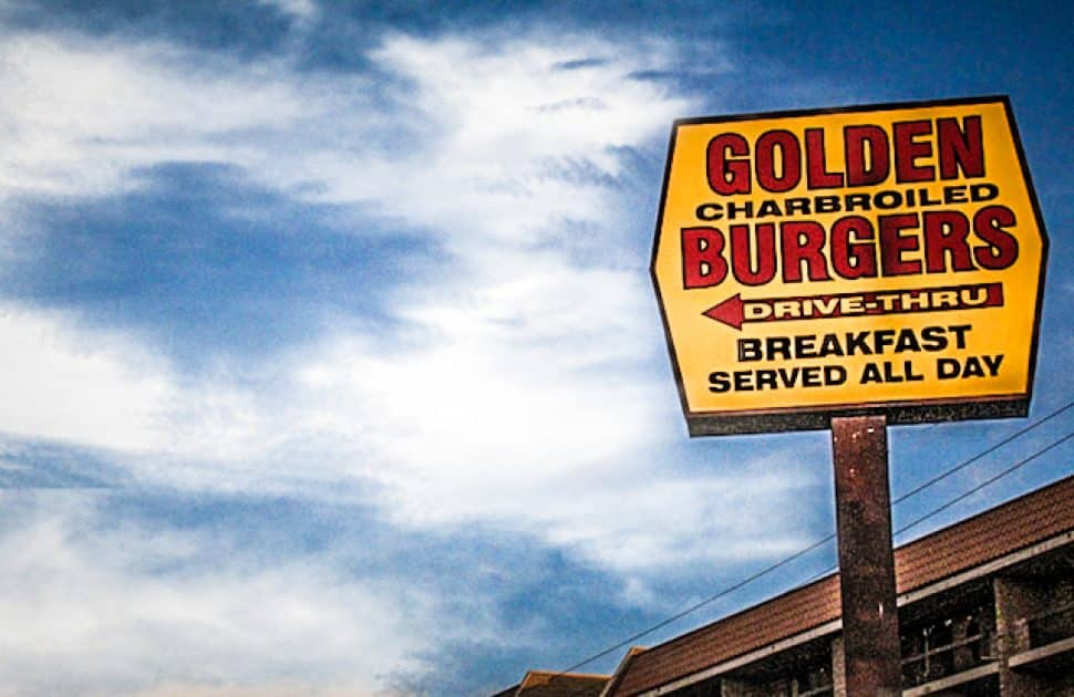 Golden Burgers in Long Beach. Photo by Brian Addison.