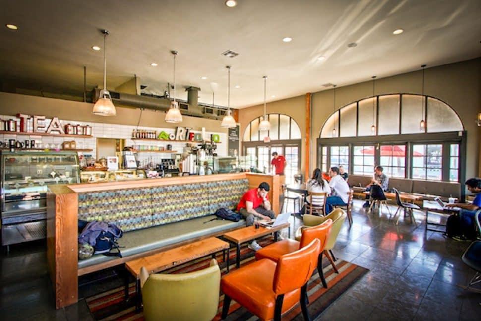 Portfolio Coffeehouse. Courtesy of Portfolio.